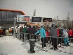 Lyžovanie a svahy v Tatranskej Lomnici